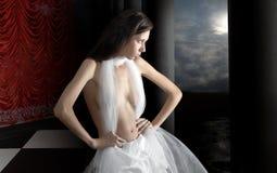 портрет девушки красотки стоковое фото rf