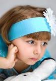 портрет девушки милый Стоковые Изображения RF