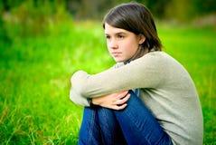 портрет девушки осени Стоковые Изображения