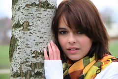 портрет девушки подростковый Стоковое Фото