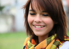 портрет девушки подростковый Стоковые Изображения