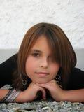 портрет девушки подростковый Стоковая Фотография RF