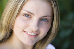 портрет девушки предназначенный для подростков Стоковые Изображения