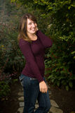 портрет девушки предназначенный для подростков Стоковые Изображения RF