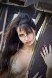портрет девушки сексуальный Стоковое фото RF