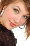 портрет девушки славный Стоковое Фото