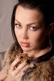 портрет девушки франтовской Стоковая Фотография RF