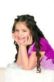 портрет девушки 10 лет Стоковые Изображения