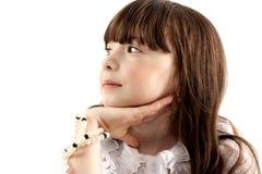 портрет девушки Стоковая Фотография