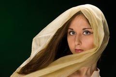 портрет девушки Стоковое Изображение