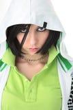 портрет девушки emo Стоковая Фотография RF