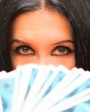 портрет девушки fortuneteller стоковая фотография