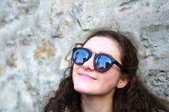 Портрет девочка-подростка стоковое изображение rf