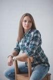 Портрет девушек Стоковое Изображение RF
