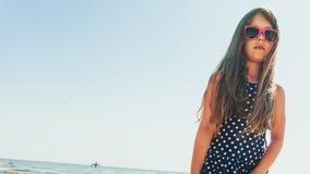 Портрет девушки внешний в временени Стоковое фото RF
