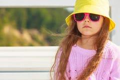 Портрет девушки внешний в временени Стоковое Изображение