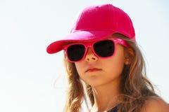 Портрет девушки внешний в временени Стоковые Изображения RF