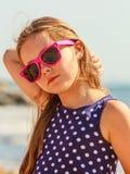 Портрет девушки внешний в временени Стоковое Изображение RF