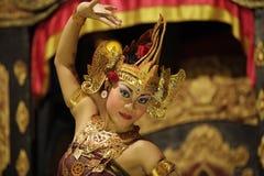 Портрет девушки в танце Стоковая Фотография RF