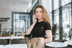 Портрет девушки дела Стоковое Изображение