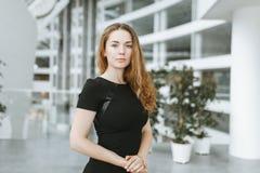 Портрет девушки дела Стоковое фото RF