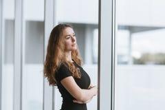 Портрет девушки дела Стоковое Фото