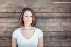 Портрет девушки женщины снаружи Стоковая Фотография RF
