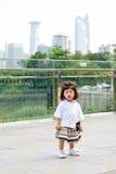 Портрет девушки малыша внешний в Китае Стоковые Фото