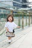 Портрет девушки малыша внешний в Китае Стоковое Изображение