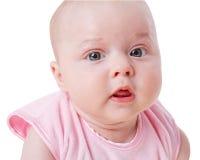 Портрет девушки малыша Стоковое Изображение