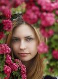портрет девушки милый Стоковая Фотография