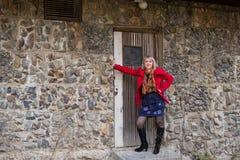 Портрет девушки на прогулке Стоковая Фотография RF