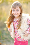 портрет девушки немного outdoors Стоковые Изображения RF