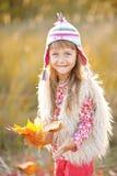 портрет девушки немного outdoors Стоковые Фото