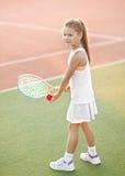 портрет девушки немного outdoors Стоковое Фото
