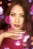 Портрет девушки очарования Азии Стоковое Изображение