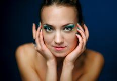 Портрет девушки очарования. Стоковое Фото