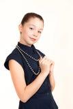 Портрет девушки подростка Стоковые Фото