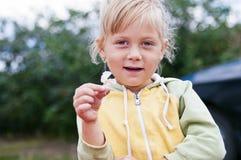 Портрет девушки страны Стоковая Фотография