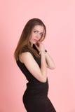 портрет девушки тонкий Стоковое Изображение