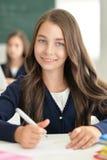 Портрет девушки школы Стоковое Фото