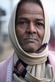 Портрет лейбориста в Kumrokhali, Индии стоковое фото