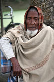 Портрет лейбориста в Kumrokhali, Индии стоковая фотография rf