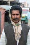 Портрет лейбориста в Kumrokhali, Индии стоковые фотографии rf