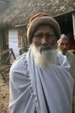 Портрет лейбориста в Kumrokhali, Индии стоковое изображение
