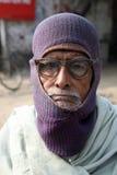 Портрет лейбориста в Kumrokhali, Индии стоковое изображение rf