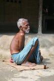 Портрет лейбориста в Kumrokhali, Индии стоковые фото