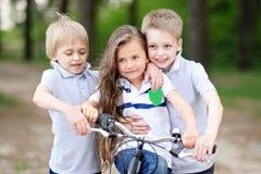 Портрет детей в лете Стоковые Фото