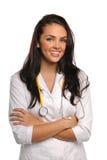 Портрет женских доктора или нюни Стоковая Фотография