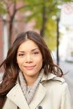 Портрет женщины города Стоковые Изображения RF